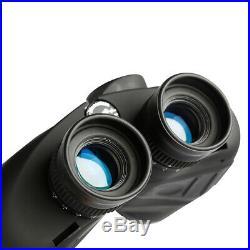 10X50 Binoculars Night Vision Rangefinder Compass Waterproof Fogproof BAK4 Prism