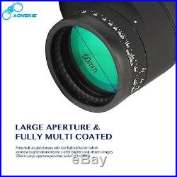 10X50 Marine Binoculars with Night Vision Rangefinder Compass BAK4 Prism