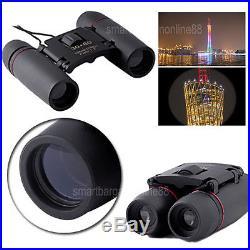 126-1000M Mini 30x60 Day Night Vision Zoom Folding Binoculars Telescope Birding