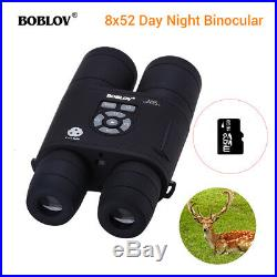 16GB 8x52 Optical Infrared Night Vision Binocular Telescope 25921440 fr Hunting