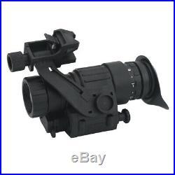 2X IR Infrared Monocular Dark Night Vision Hunting Telescope Scope for Helmet