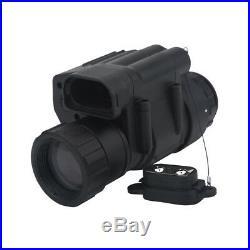 2X Infrared Dark Monocular Telescope Scope IR Night Vision for Hunting Helmet