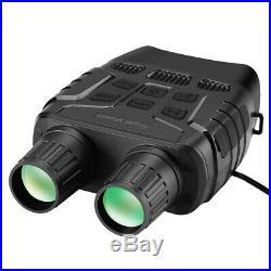 2.3 4X Zoom Night Vision Binoculars Photos Videos Camera FOV 10° Fliter Cover