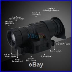 2xInfrared Night Vision IR Telescope HD Monocular LCD Display for Helmet Hunting