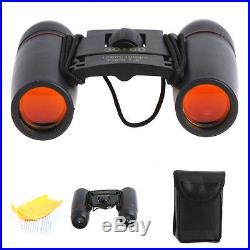30X60 Zoom Mini Binoculars Folding Telescopes Night Vision Outdoor sports + Bag