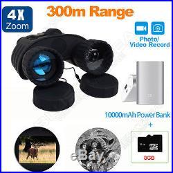 4X50mm Night Vision Scope Binocular Telescope Night Vision Goggles Camera DVR