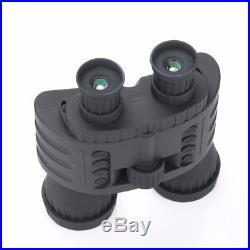 5MP 720P HD Night Vision Binocular Hunting Trail Telescope IR Camera 4X50mm 300M