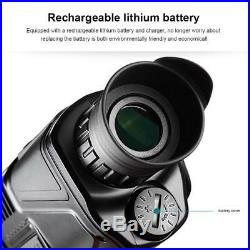 5X40mm IR Night Vision Monocular 200m Built-in Camera Digital Telescope Hunting