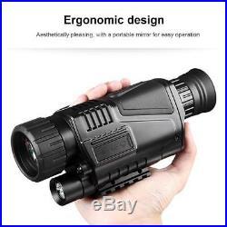 5X40mm Night Vision Monocular Binoculars Digital Telescopes for Hunting Infrared