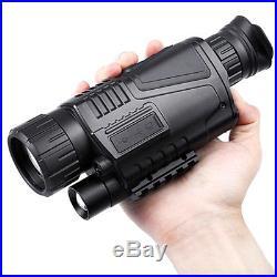 5X42 Digital Infrared Night Vision Monocular Hunting Video Telescope Scope