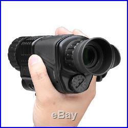 5X Zoom Infrared Dark Night Vision Monocular Binoculars Telescopes Scope Hunting