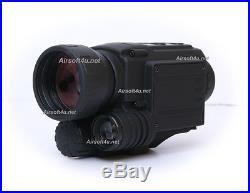 5x40 Infrared IR Digital Night Vision Video Camera Monocular Scope 4GB GEN1 NVG