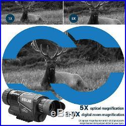 5x40 Infrared IR Night Vision Digital Video Camera Monocular Scope Telescope