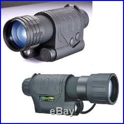 5x Handheld Digital Night Vision Monocular Scope Infrared IR / RG-55