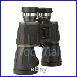 60x50 Zoom Day Night Vision Outdoor Travel Binoculars Hunting Telescope+Case