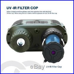 7X31 Digital Night Vision Binocular Scope with 2 TFT LCD and 32GB TFCard Camera