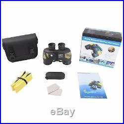 7X50 Military Binoculars For Adults Waterproof Telescope With Rangefiner Compass