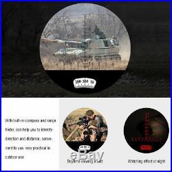 7X50 Military Marine Night Vision Binoculars Waterproof With Rangefinder Compass