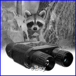 7X Powerful HD Binoculars Night Vision Infrared Telescope Scope Hunting Camera