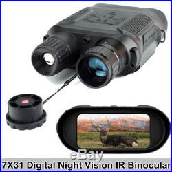 7x31 Night Vision Binocular Digital Infrared Camera Trail Scope Camera