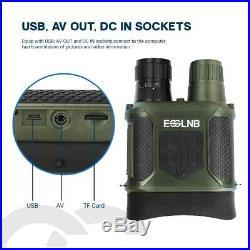 7x31 Night Vision Binocular Digital Infrared Night Vision Scope HD Photo Camera