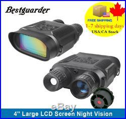 7x31 Night Vision Binocular Infrared Hunting telescop 4 inch Digital TFT LCD HD