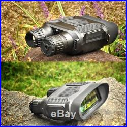 7x31 Night Vision Binocular Monocular Infrared Scope 640x480p HD IR Camera 400M