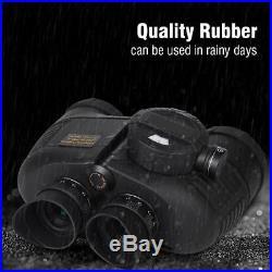 7x50 BAK4 HD Night Vision Rangefinder Compass Binocular Telescope Marine Hunt GL