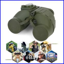 7x50 BAK4 HD Night Vision Rangefinder Compass Binocular Telescope Marine Hunt SD