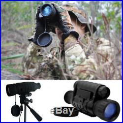 850NM Monocular IR Trail Telescope Night Vision Wildlife 6x50mm 5MP HD Camera