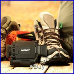 8GB 1-5X18 Multi-Function Night Vision Monocular 850NM Wildlife Scope Riflescope