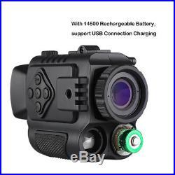 8GB 5X Digital Infrared Night Vision Monocular Hunting Binocular Riflescope AU
