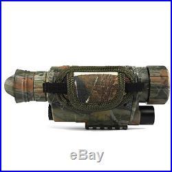 8GB DVRA10 Infrared Dark Night Vision IR Monocular Binoculars Telescopes 3.7V DC