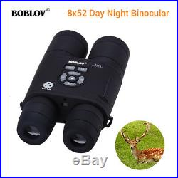 8x52 Optical Infrared Night Vision Binocular Spotting Scope Telescope Monocular