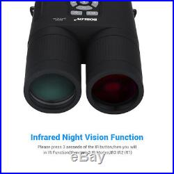 8x52 Optical Infrared Night Vision Binocular Telescope With 16GB Card for Game