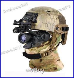 AORUEY Army Helmet & Infrared Hd Night-vision Monocular Telescope IR Digital New