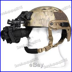 AORUEY Helmet With Infrared Hd Night-vision Monocular Telescope IR Digital Set
