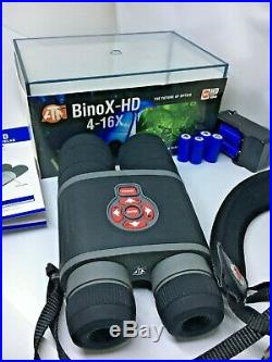 ATN BinoX 4-16x Smart Day/Night Digital Binoculars with1080p, HD Video, WiFi, GPS