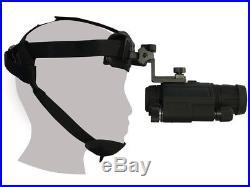 ATN Viper X-1 NIGHT VISION Goggles Monocular withHeadset BRAND NEW + WARRANTY