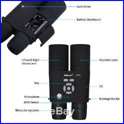 BOBLOV 16GB 8x52 Optical Infrared Night Vision Binocular 335PPI AMP for Hunting
