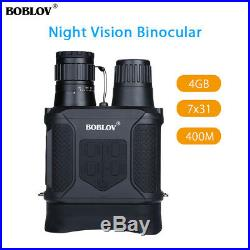 BOBLOV 7x31mm Day & Night Vision Infrared Binocular Telescope For Camping Hiking