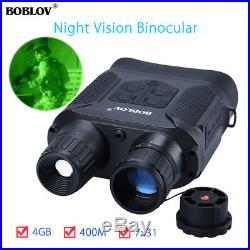 BOBLOV Day & Night Vision Binocular IR 7x31 Zoom Scope Telescope For Hunting AU