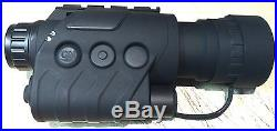 BR-88 Infrared Dark Night Vision IR Monocular Binoculars Telescopes 5X +Free Bag