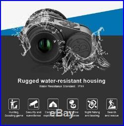 Bestguarder Digital Night Vision Monocular Scope 6x50mm Infrared HD Camera