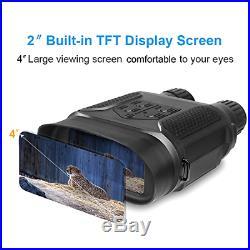 Bestguarder NV-800 7X31mm Digital Night Vision Binocular with 2 inch TFT LCD an