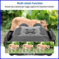 Bestguarder NV-900 4.5X40mm Digital Night Vision Binocular with Time Lapse Func