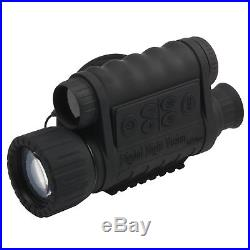 Bestguarder WG-50 6x50mm HD Digital Night Vision Monocular 1.5 TFT LCD Camera