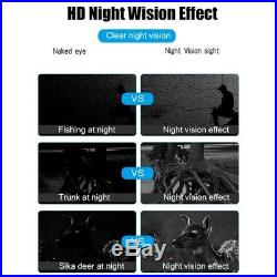 Binocular Night-Vision Telescope, 720P HD Digital Infrared Hunting with 2.3 F3L8