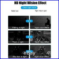 Binocular Night-Vision Telescope, 720P HD Digital Infrared Hunting with 2.3 M2Q7