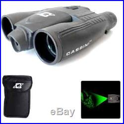 Binoculars Night Vision Telescope Zoom Cassini 8x32mm Green Laser Outdoor Travel